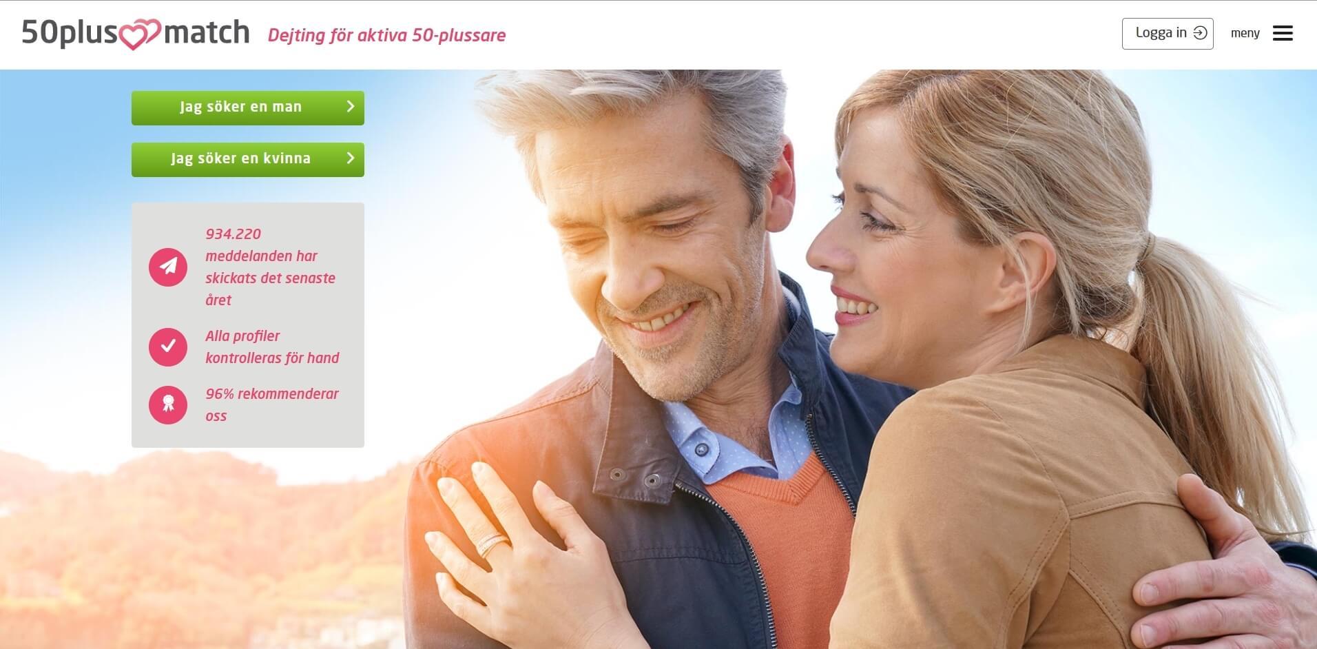 50PlusMatch Website Screenshot