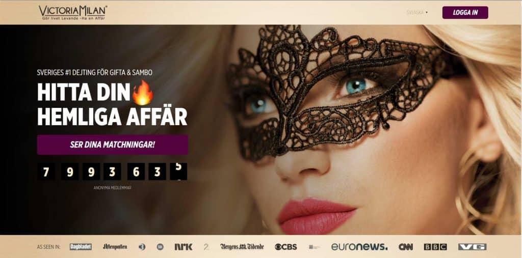 Victoria Milan Website Screenshot